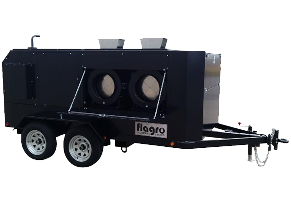FVO-1000 Trailer Self-Contained Heater Trailers