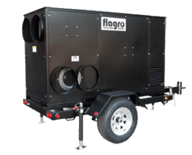 FVNP-750TR Self-Contained Heat and Light Trailer