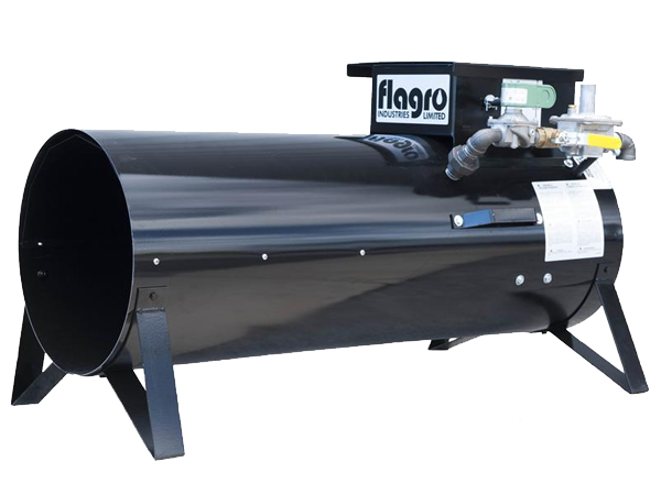 Flagro 400T dual fuel construction heater