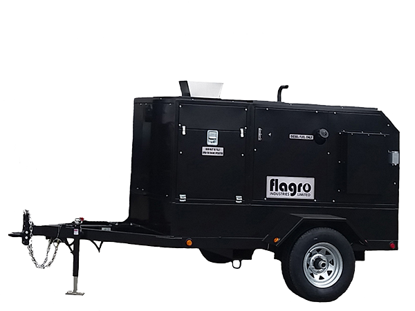 FVO-400 Trailer Self-Contained Heater Trailers