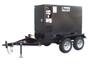 FVO-750TRFC Flagro heat trailer