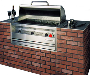 Silver Giant built-in barbecue model SGR-60B